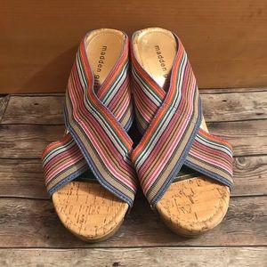 Madden girl Nautical wedge sandals